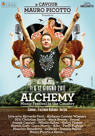 Mauro Picotto 'Alchemy Records Festival' Contest