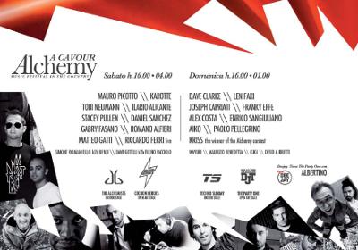 Alchemy Festival Line-Up